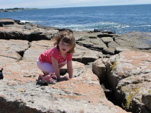 Cute Potato #1 Exploring at Schoodic Peninsula