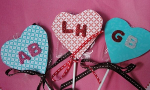 A sweet Valentine to make with little ones.