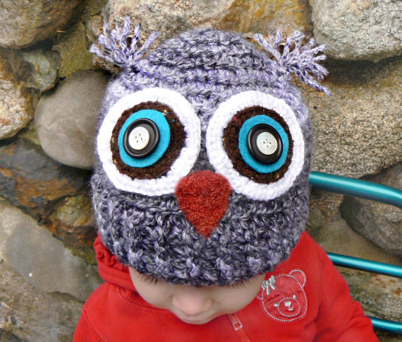 Owl Hats By Shanna Tice