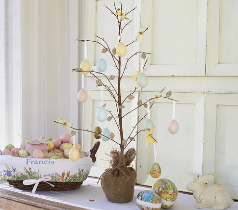 Easter tree How to make an easter egg tree