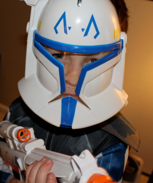 CP#2 wants to be a Clone Trooper.