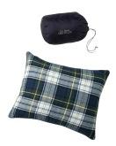 284594 Flannel Camp Pillows Navy Tartan
