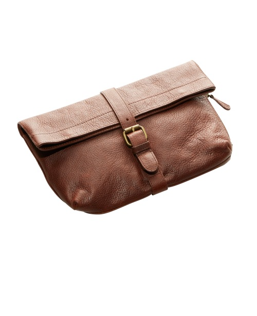 299489 Signature Westport Leather Clutch