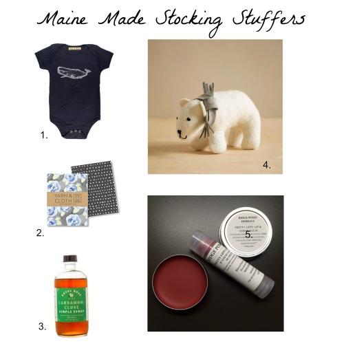 Maine Made Stocking Stuffers 2